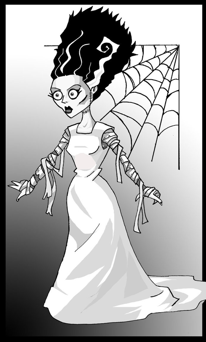 Frankenstein clipart sketch Of Bride memorypalace The by