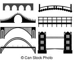Bridge clipart drawbridge Images on Stock background