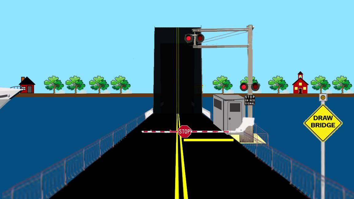 Bridge clipart drawbridge Drawbridge Drawing Animated Drawing YouTube