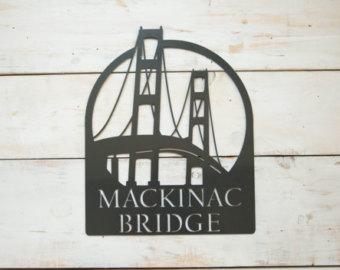 Bridge clipart mackinac island Etsy weeks Mackinac The Steel