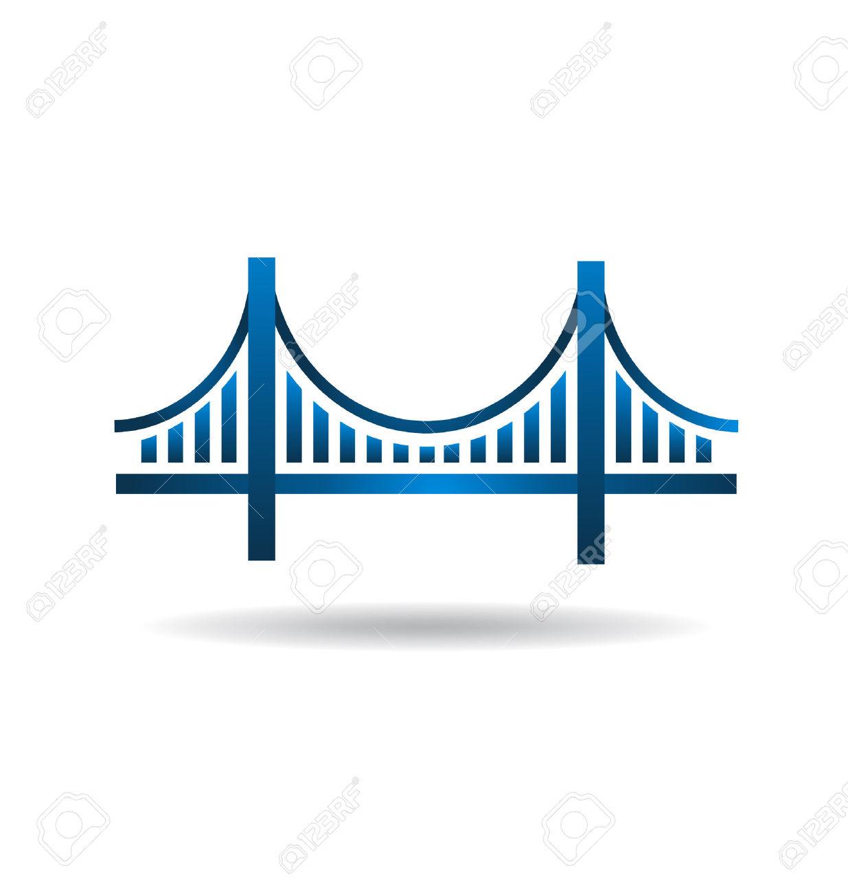 Bridge clipart outline Outline golden Search Google gate