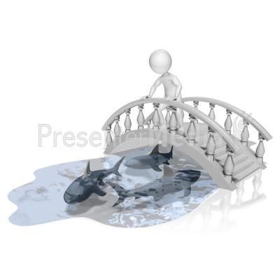 Bridge clipart water clipart Water Water Bridge Over Clip
