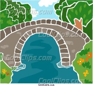 Bridge clipart water clipart – Clip Bridge Over Bridge