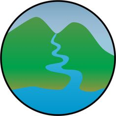 Bridge clipart watershed Vector Watersheds and watershed illustration