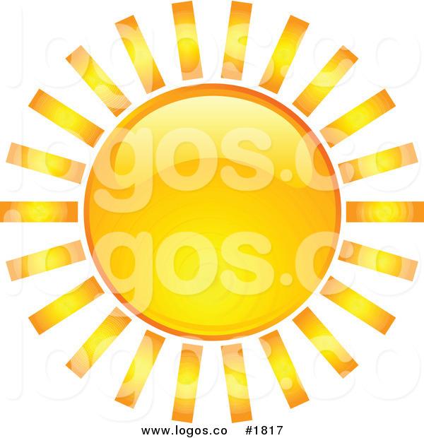 Bright clipart hot summer sun Free Bright Logo Orange Hot