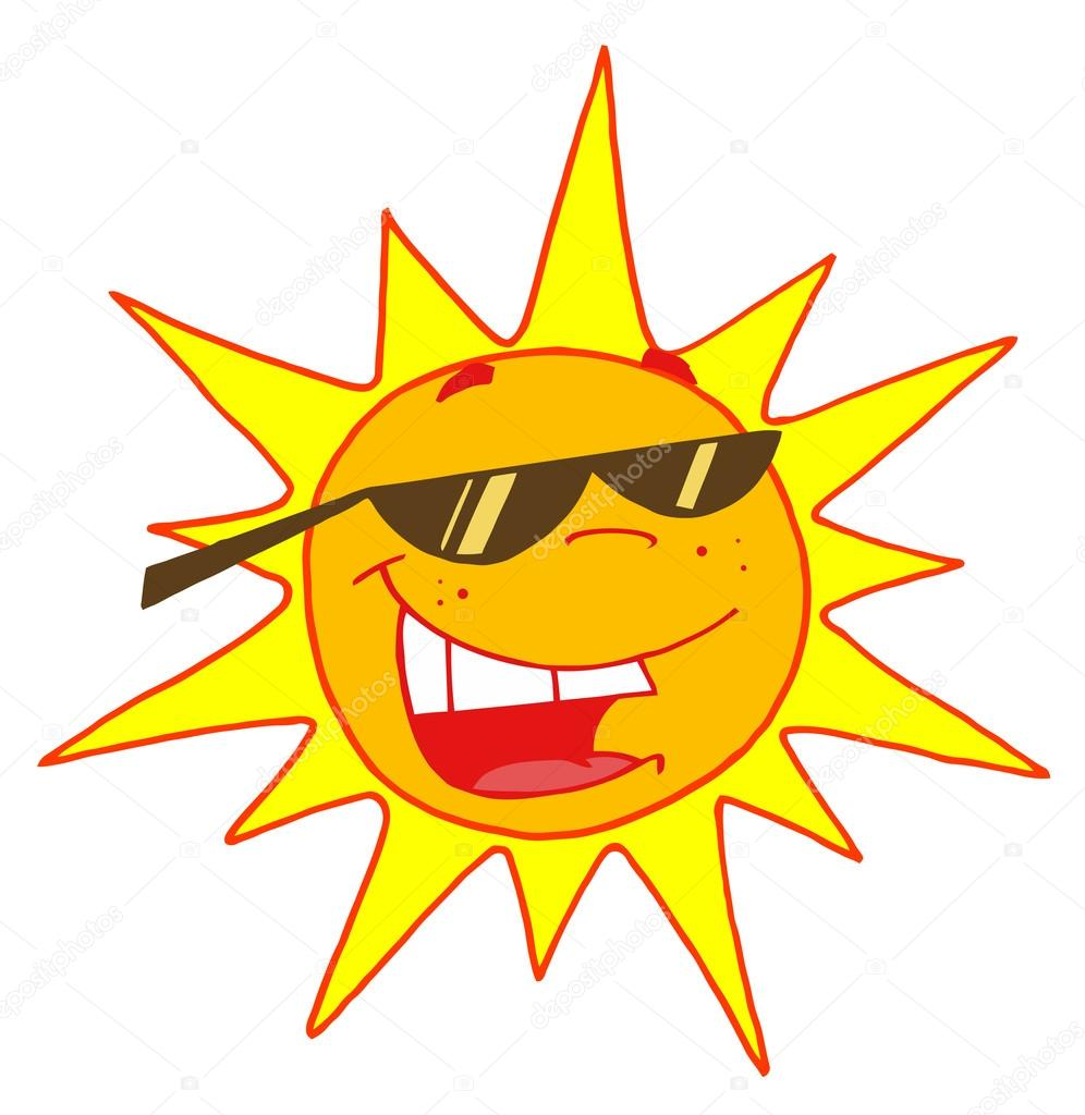 Bright clipart hot summer sun #4725473 Photo Bright Smiling Sun