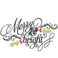 Bright clipart merry Merry cute cut for outs