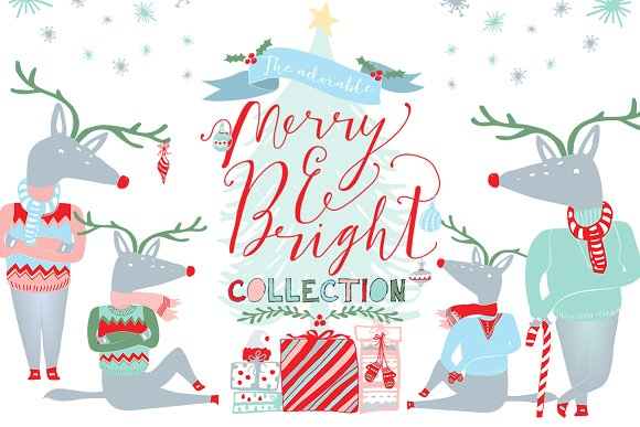 Bright clipart merry Merry ~ Christmas Bright Bright