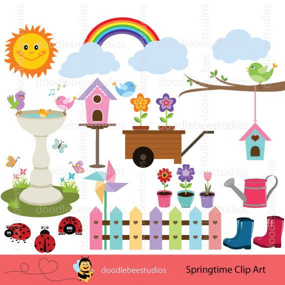 Spread clipart Garden and Clipart that ClipartRainbow