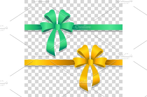 Bright clipart yellow object Bows with Wide Objects and