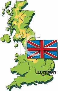 Britain clipart Britain Map A Clipart a of Royalty