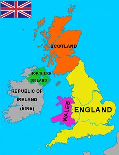 Britain clipart Britain Map Ireland clipart BRITAIN: Free GREAT