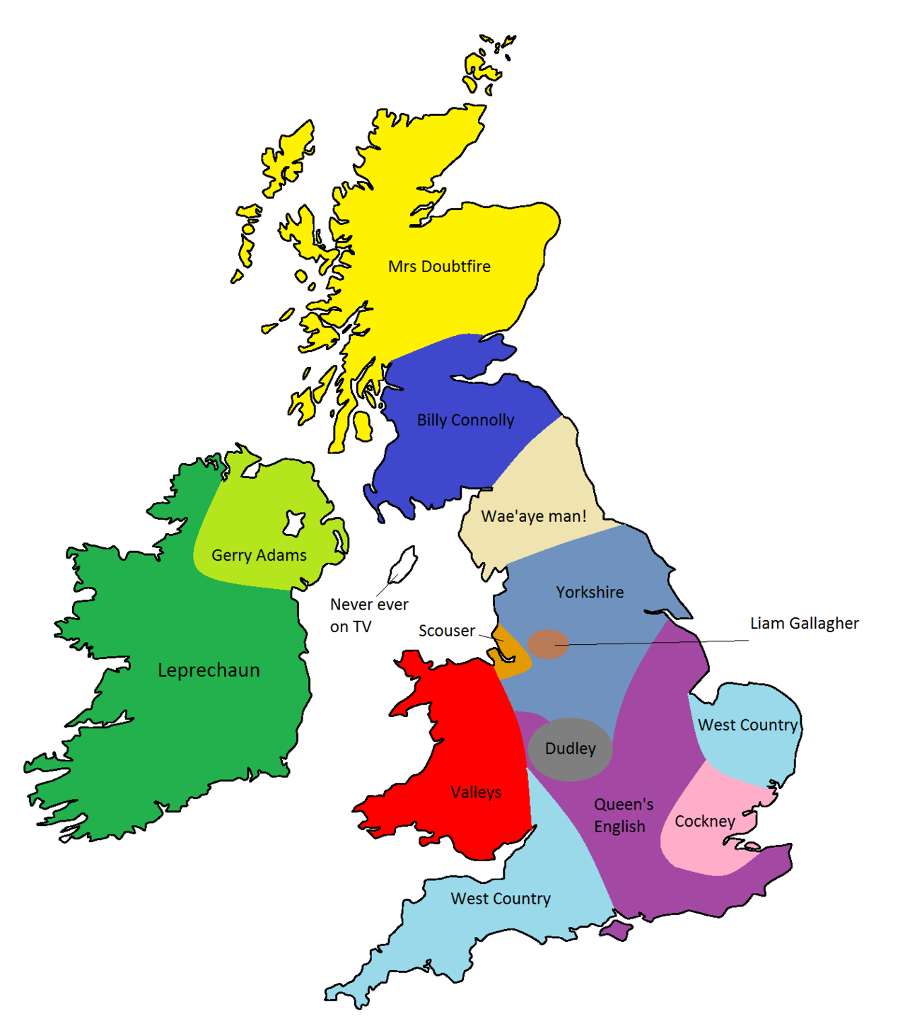 Britain clipart Britain Map Sound English map on English