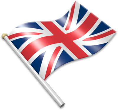 British Flag clipart animated 3D a Flag of