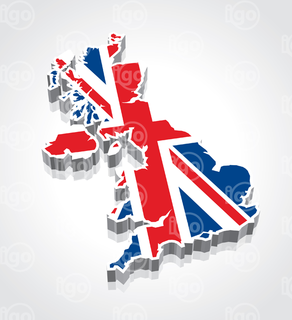British Flag clipart england map World  flag vector Icons