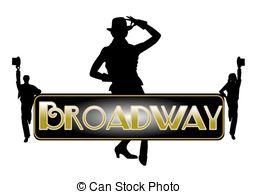 Broadway clipart Illustrations  concept 350 1