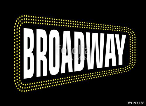 Broadway clipart Clip  Art Illustration