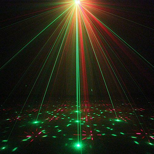Actor clipart dj light RGB com:UPKJ 3 Lens Laser