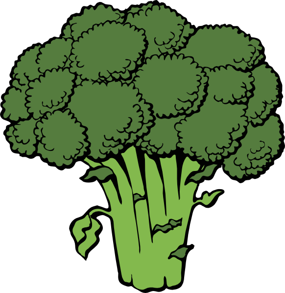 Broccoli clipart cauliflower Use Public Free Broccoli Domain