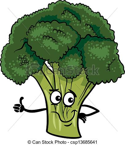 Salad clipart background Cartoon vegetable Vector illustration funny