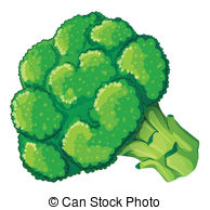 Broccoli clipart cauliflower Broccoli Art of Anjaiser3/163; EPS