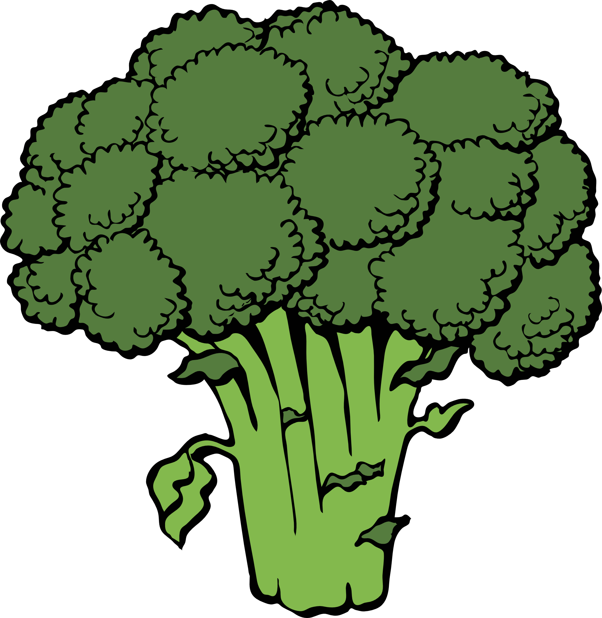 Broccoli clipart coloring Free Clipart 20clipart Images Clipart