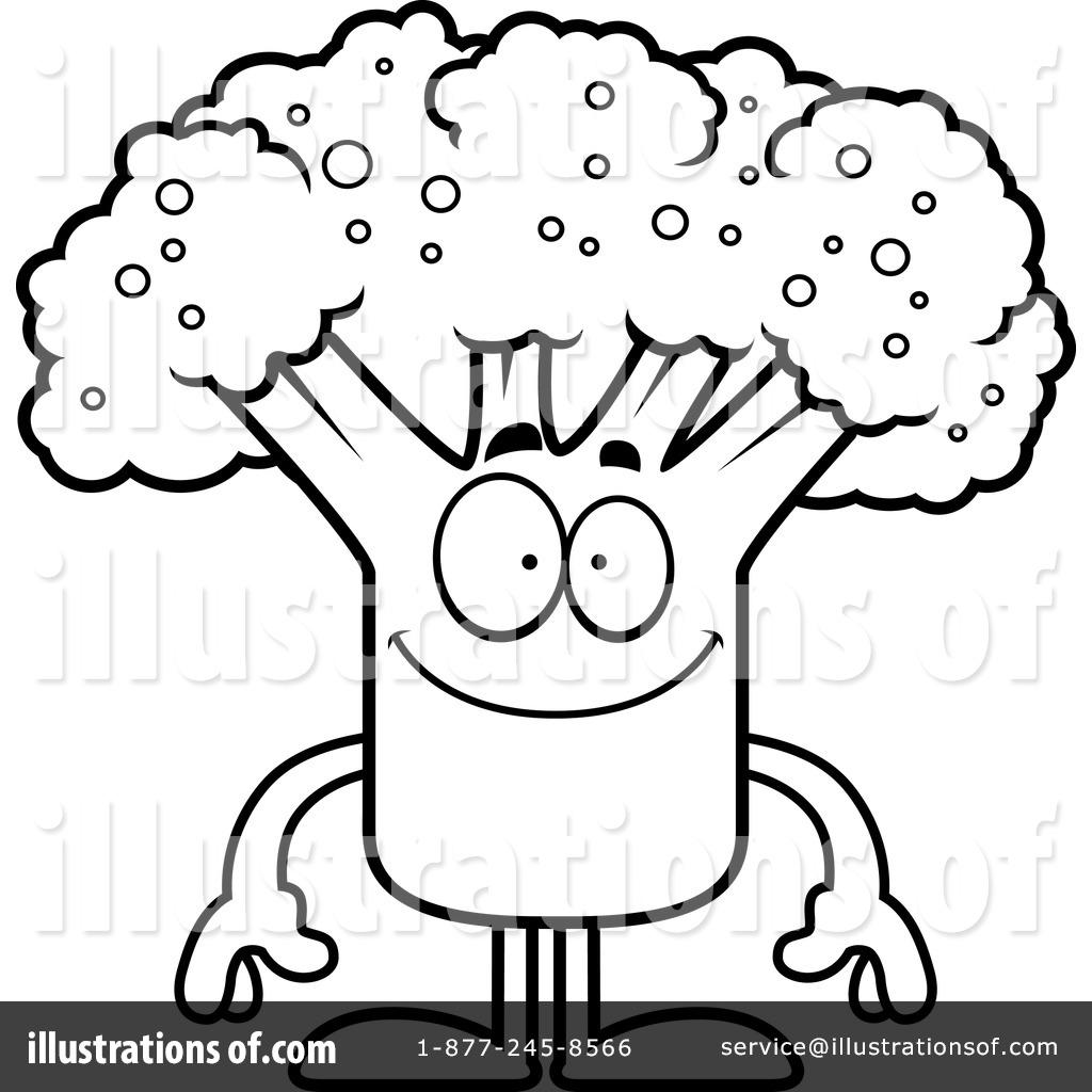 Broccoli clipart coloring Illustration Thoman #1127421 Cory (RF)