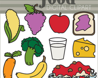 Carrot clipart food item Collection Clipart clipart for Etsy