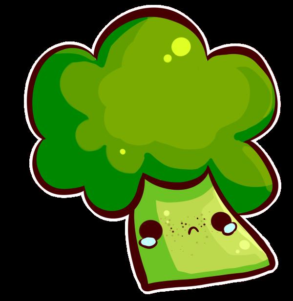 Broccoli clipart kawaii DeviantArt one likes likes one