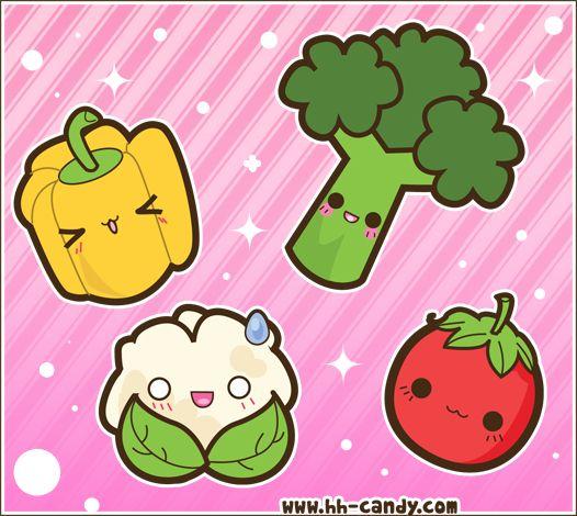 Broccoli clipart kawaii 66 images best Images Pinterest