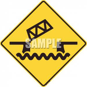 Broken Bridge clipart dock Caution Clipart Draw Royalty Caution