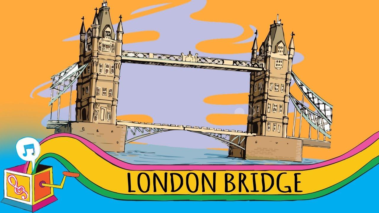 Broken Bridge clipart fallen Bridge Bridge London Karaoke Down