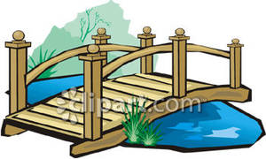 Broken Bridge clipart footbridge A A Free Footbridge Royalty