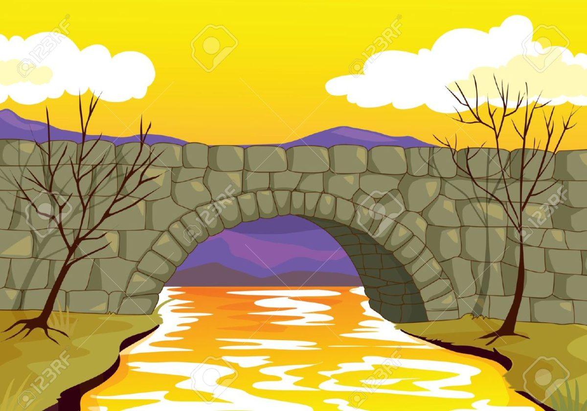 Broken Bridge clipart stone bridge Stone 1246 Bridge Clipart Travel