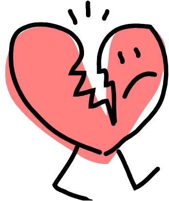Broken Heart clipart Heart art heart clip Broken
