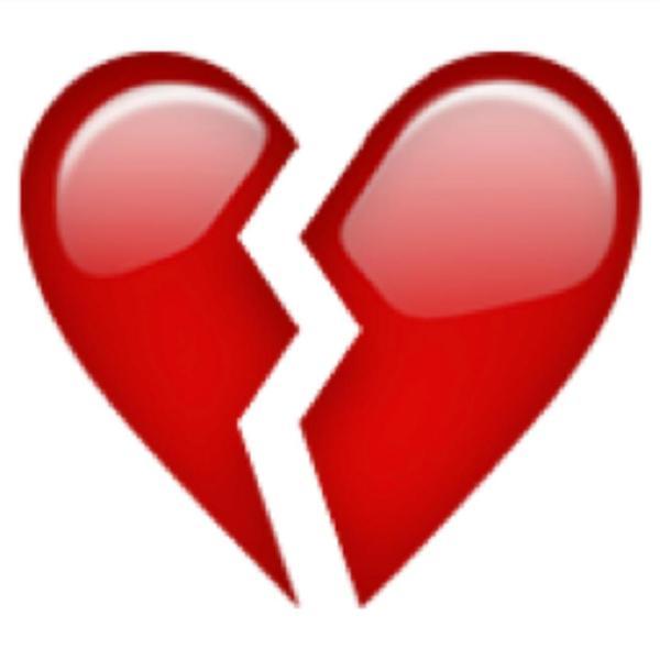 Broken Heart clipart Heart And Broken Pictures Red