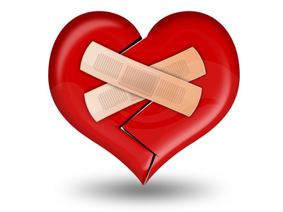 Broken Heart clipart bandaid clipart Broken with CNdaily heart With