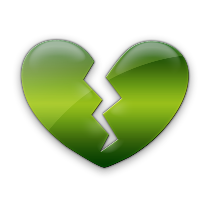 Broken Heart clipart icon Heart #029015 Etc » Icons