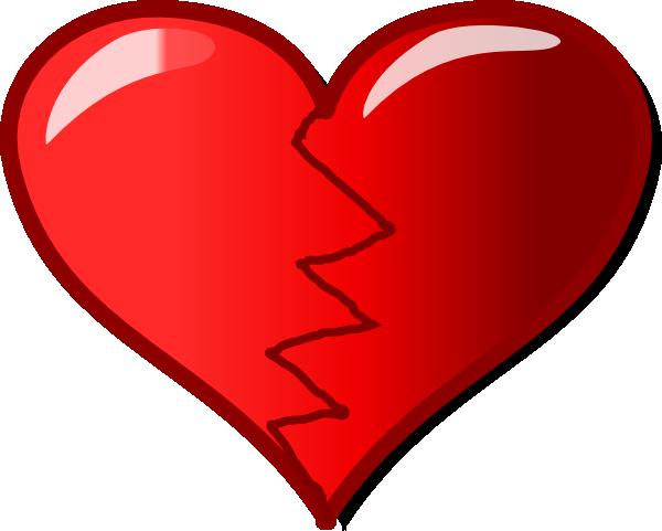 Broken Heart clipart small · com clip Art art