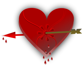 Broken Heart clipart valentine Of Hearts Art Free Public