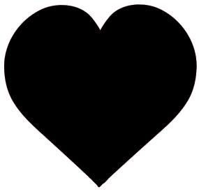 Broken Heart clipart valentine's day dance Black Day Valentine Hearts clipart