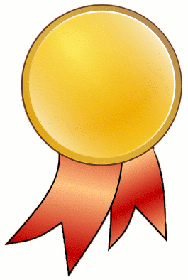 Ribbon clipart medal certificate #2