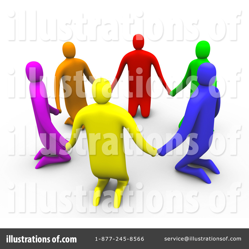 Brotherhood clipart (RF) Support Group #97322 Illustration