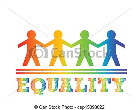 Structure clipart equality Equality collection 15 025 Stock