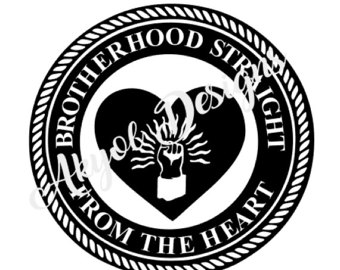 Brotherhood clipart trust Heart Straight decal the We