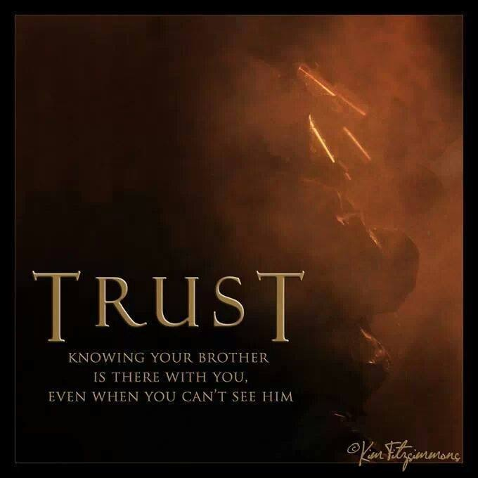 Brotherhood clipart trust Don don brother if Is