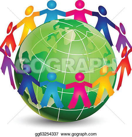 Brotherhood clipart world peace Art Grip Clip Free people