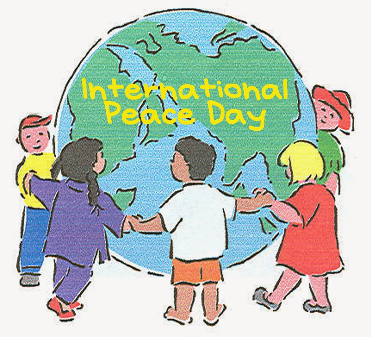Brotherhood clipart world peace World International Happy Quotes of