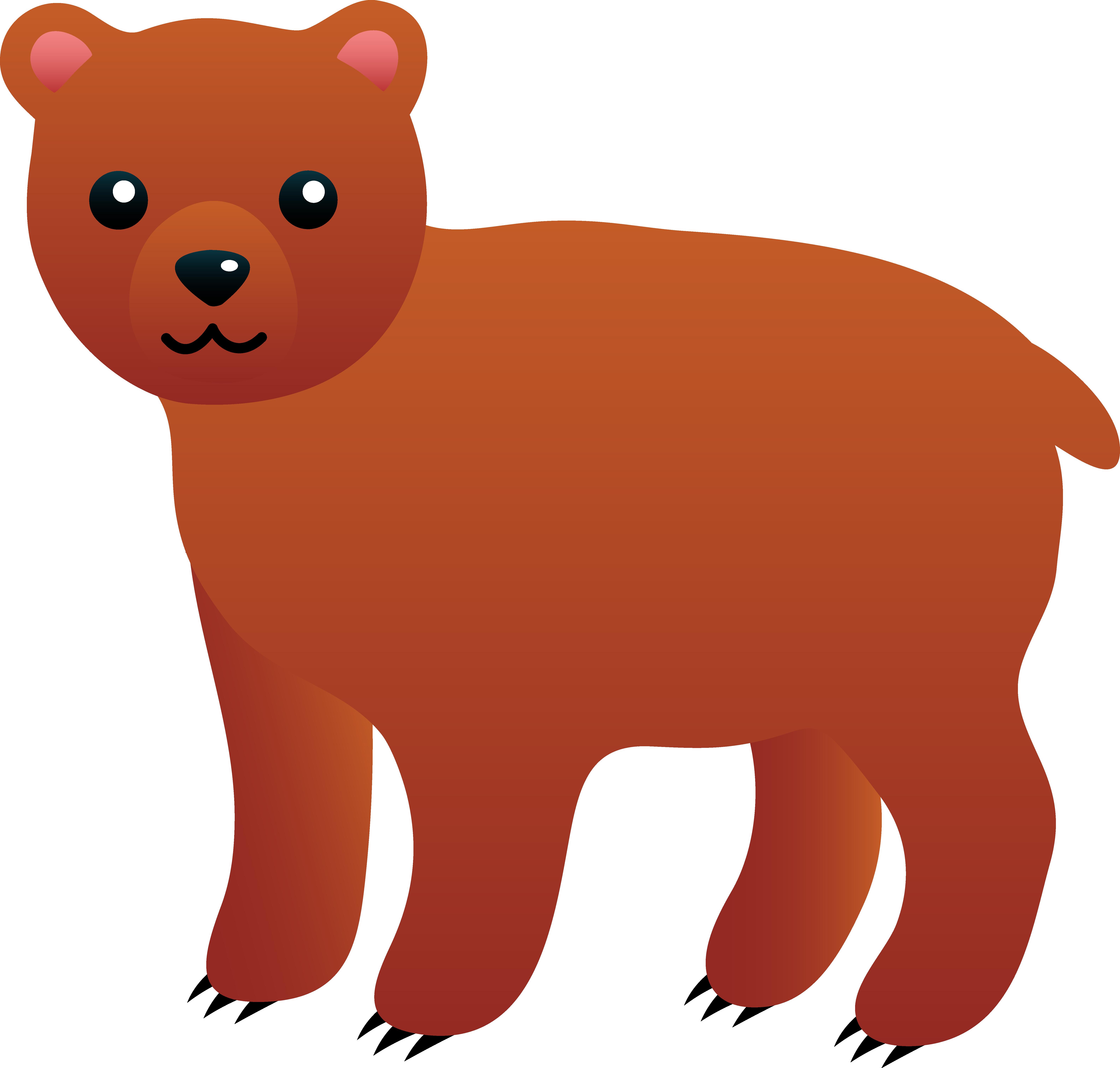 Teddy clipart grizzly bear Bear cute clip bears 0