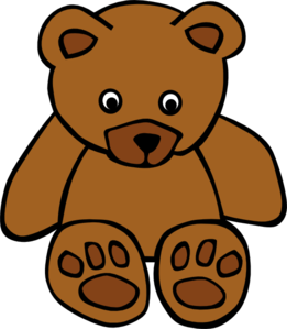 Brown Bear clipart Baby Art  clip Brown
